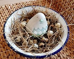 Vogelnest-Deko
