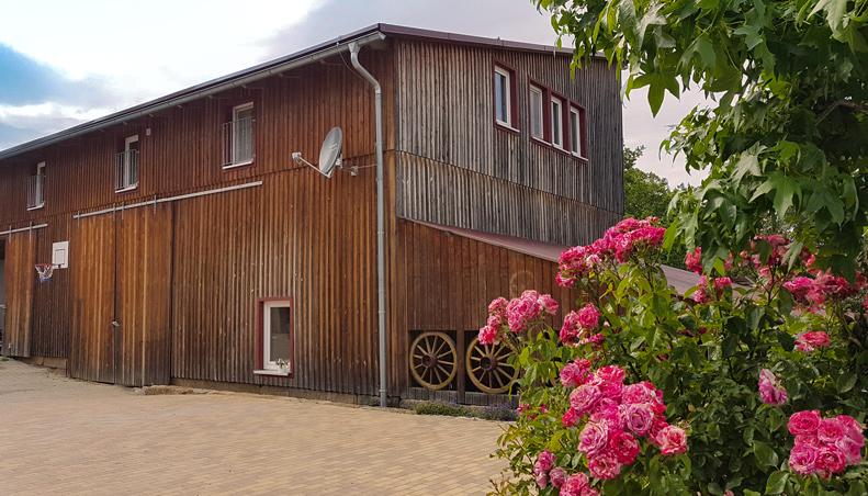 Ferienhaus Wohnung Ruf in Küps, alter Bauernhof